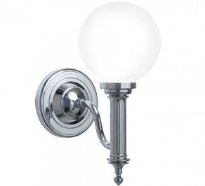 Светильник  настенный настенный Imperial Bathroom IB Lightning Collection, ib_cadiz_wall_light_with_glass_shade