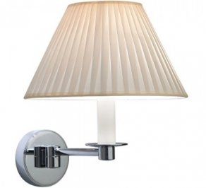 Светильник  настенный настенный Imperial Bathroom IB Lightning Collection, ib_brokton_wall_light_with_a_flat_pleated