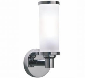 Светильник  настенный настенный Imperial Bathroom IB Lightning Collection, ib_carlyon_single_wall_light_with_glass_shade