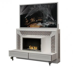 ТВ-аудио стойка Vismara Design Mosaik, TV-Lift&Fire-182-Mosaik