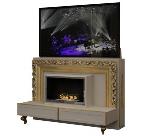 ТВ-аудио стойка Vismara Design Baroque, TV-Lift&Fire-Baroque-1