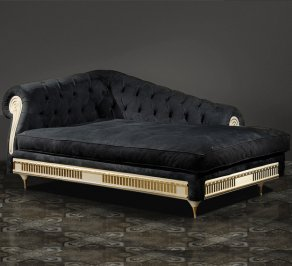 кушетка Vismara Design Art Deco, Chaise-Lounge-SX-ArtDeco