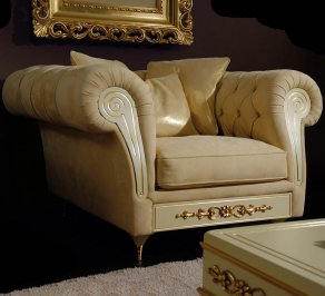кресло Vismara Design Baroque, Armchair-123-Baroque