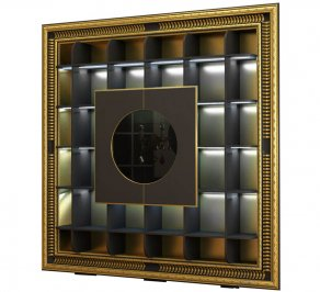бар Vismara Design Art Deco, The-Frame-Container-Bar-ArtDeco-1