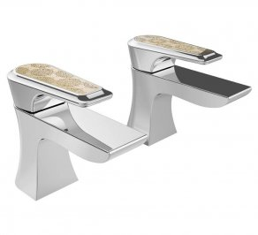 Смеситель для ванной Heritage Bathrooms Lymington Lace, TLYCG01