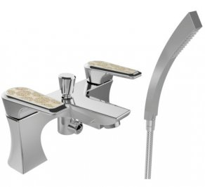 Смеситель для ванной Heritage Bathrooms Lymington Lace, TLYCG02