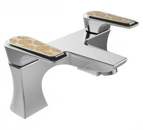 Смеситель для ванной Heritage Bathrooms Lymington Lace, TLYCG07
