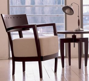 Кресло Tonon steel & wood chairs, 757.03