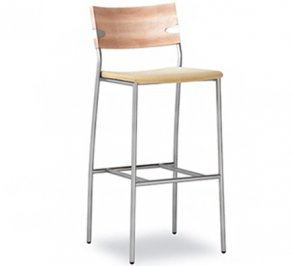 Барный стул Tonon steel & wood chairs, 325.22