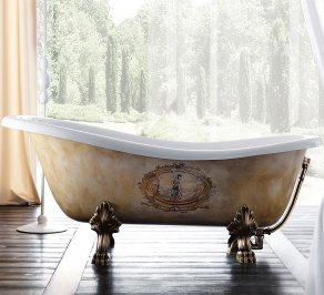 Акриловая ванна Treesse Spa+Home, epoca_impero_170x80