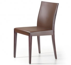 Стул без подлокотников Cattelan Italia Brigitta, brigitta-chair-brown