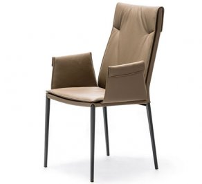 Стул с подлокотниками Cattelan Italia Isabel, isabel-ml-chair-arms-100