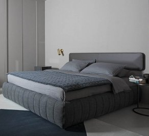 Двухместная кровать Meridiani Tuyo, tuyo_head_slim_kuoio_beds