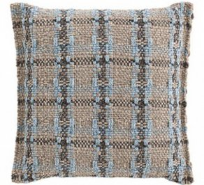 Подушка GAN Garden Layers, gl_small_cushion_checks_blue