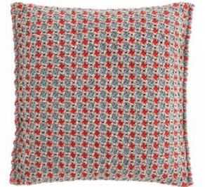 Подушка GAN Garden Layers, gl_small_cushion_gofre_blue