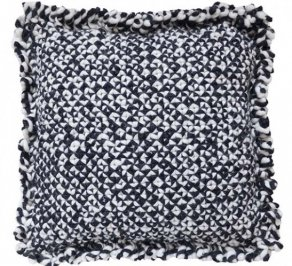 Подушка GAN Waan, waan_cushion_black&white