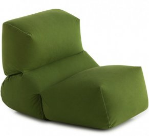 Бескаркасное кресло GAN Grapy, grapy_soft_seat_green_cotton
