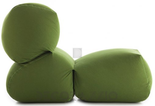 Бескаркасное кресло GAN Grapy - grapy_soft_seat_green_cotton