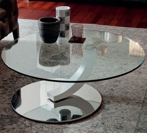 Кофейный столик Cattelan Italia Cobra Inox, cobra-inox-coffee-table-90