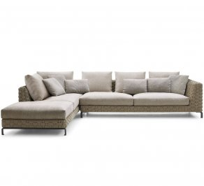 Модульный диван B&B Italia Ray, ray-natural-modular-sofa