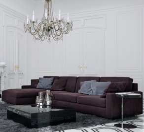 Модульный диван Asnaghi Shades of Elegance, rivage-modular-sofa