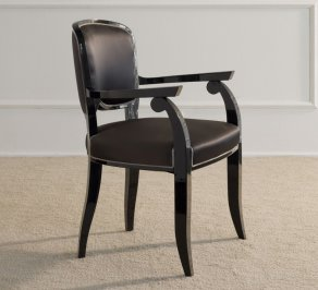 Стул с подлокотниками Galimberti Nino Chairs and small armchairs, Gemma_poltroncina