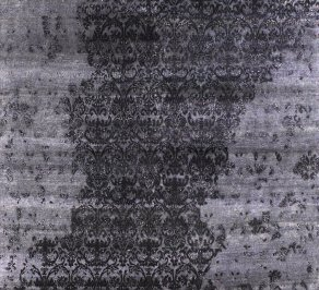 Ковер Carpet Edition Damask, Waterfall black
