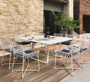 Обеденный стол Roberti Rattan Hamptons Graphics, 9730