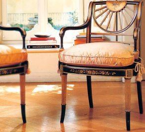 Стул с подлокотниками Galimberti Nino Chairs and small armchairs, NL.580