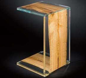 Приставной столик VG New Trend Glass And Wood, 7511781.00