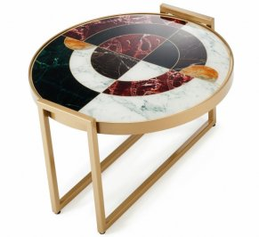 Кофейный столик Mambo Unlimited Ideas Norman, norman-coffee-table-40-wine