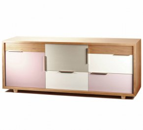 Буфет Mambo Unlimited Ideas Muse, muse-sideboard-oak