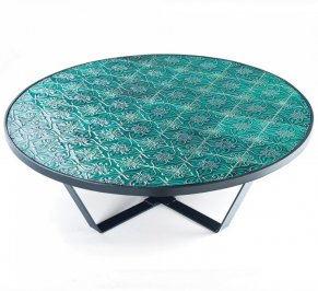 Кофейный столик Mambo Caldas, caldas-round-center-table-jade