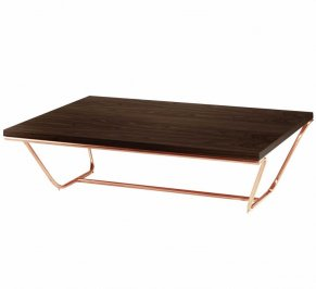 Кофейный столик Mambo Unlimited Ideas Soul, soul-center-table-dark-walnut