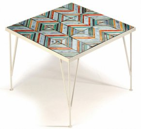 Кофейный столик Mambo Caldas, caldas-coffee-table-stripes