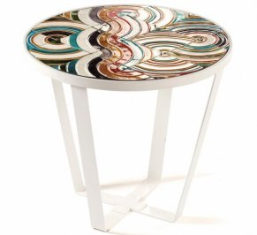 Кофейный столик Mambo Unlimited Ideas Caldas, caldas-round-coffee-table