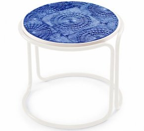 Кофейный столик Mambo Caldas, caldas-round-coffee-table-cobalt