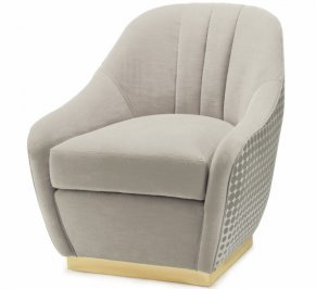 Кресло Mambo Unlimited Ideas Gia, gia-armchair-pebble