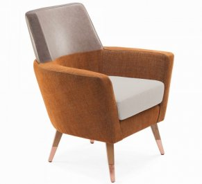 Кресло Mambo Doble, doble-armchair-copper