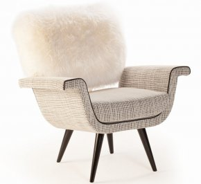 Кресло Mambo Unlimited Ideas Ivy, ivy-armchair