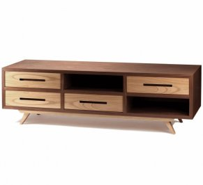 ТВ-аудио стойка Mambo Space, space-tv-bench-walnut