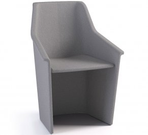 Стул с подлокотниками Forsit by LAS Jera, jera-swivel-guest-chair