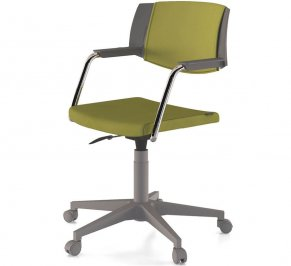 Стул с подлокотниками Forsit by LAS Hello, hello-revolving-task-chair-1