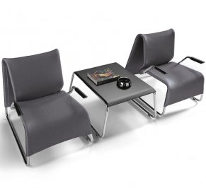 Кресло Forsit by LAS E. Lounge, e.lounge-waiting-chair-with-armrests