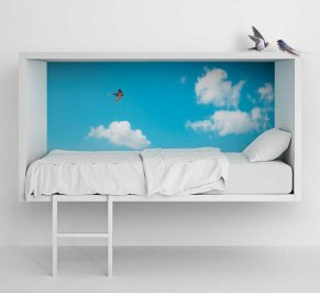 Кровать Lago Cloud, cloud-bed
