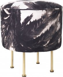 Пуф Gubi Modern Line Collection, Pouffe_38_Brass_PierreFrey