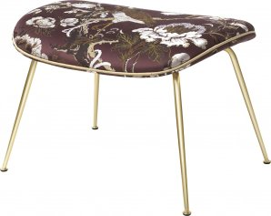 Оттоманка Gubi GamFratesi Collection, Footstool_Brass_DedarSilkbird
