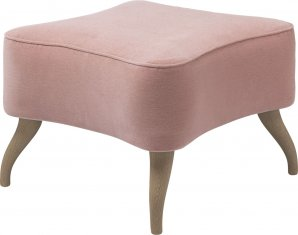 Оттоманка Gubi Gubi Olsen Collection, Bonaparte_Ottoman_Oak_Pink