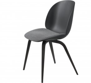 Стул без подлокотников Gubi Beetle Dining Chair, BlackStainedBeech_Black