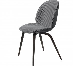 Стул без подлокотников Gubi Beetle Dining Chair, BlackStainedBeech_Black_Backhausen